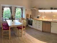 Kuchyň - apartmán k pronajmutí Čistá