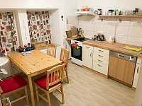 Vybavená kuchyň - apartmán ubytování Čistá