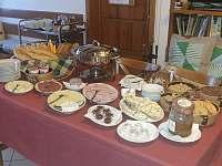 Snídaně - chata k pronajmutí Benecko