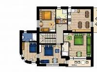 apartmán 1 (dolní patro)