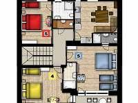 apartmán 2 (podkroví)