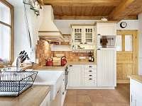 kuchyň chalupa Kulíšek - ubytování Strážné