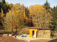 Sauna a koupání - chalupa ubytování Mostek - Debrné
