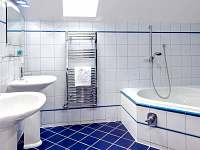 Apartmán delux koupelna s vanou