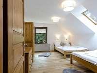 Apartmán delux ložnice