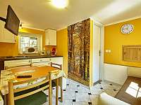 Kuchyňka v suterénu - chata ubytování Benecko