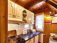 Plně vybavená kuchyně - chata ubytování Benecko