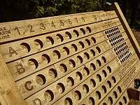Venkovní hra lodě - pronájem chaty Benecko