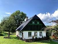 Levné ubytování Koupaliště Dolní Kalná Chalupa k pronájmu - Horní Branná