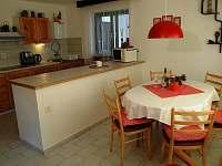 Kuchyň s jídelnou - apartmán A