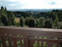 Překrásný výhled z balkonu
