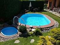 Zahrada bazén - Rokytnice nad Jizerou