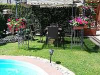 Zahrada posezení - Rokytnice nad Jizerou
