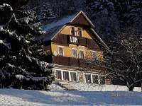 zima - chata ubytování Horní Mísečky