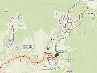 mapa-poloha - pronájem apartmánu Rokytnice nad Jizerou