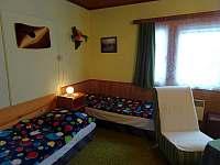 pokoj se 4 lůžky - apartmán ubytování Harrachov