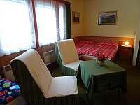 pokoj se 4 lůžky - apartmán k pronájmu Harrachov
