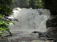 výlety do blízkého okolí-Mumlavský vodopád...