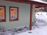 pohled na společenskou místnost v zimě - Žacléř
