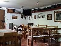 společenská místnost - pronájem chalupy Jablonec nad Jizerou - Blansko