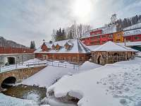 Baba-jaga zima 2 - chalupa k pronajmutí Žacléř - Prkenný Důl