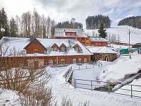 Baba-jaga zima 3 - chalupa ubytování Žacléř - Prkenný Důl