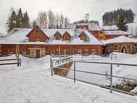 Baba-jaga zima - chalupa ubytování Žacléř - Prkenný Důl
