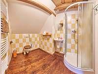 Pokoj 1 - koupelna - chalupa k pronajmutí Žacléř - Prkenný Důl