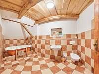Pokoj 4 - koupelna - Žacléř - Prkenný Důl
