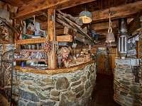 Salonek 4 - pronájem chalupy Žacléř - Prkenný Důl