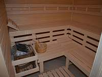 Sauna - chata k pronajmutí Strážné