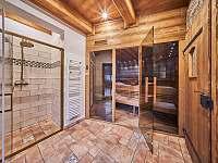 """Roubenka NA SJEZDOVCE """" sauna"""" - Černý Důl"""