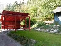 Pohled na pegrolu ze zahrady - Černý Důl - Čistá v Krkonoších