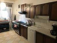 kuchyň - chata ubytování Křižlice