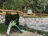 pískoviště - pronájem chaty Křižlice