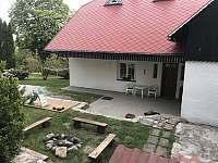 Zahrada - chata k pronájmu Křižlice