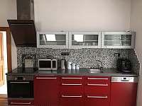 APARTMÁN č. 1 - kuchyně - vila ubytování Svoboda nad Úpou