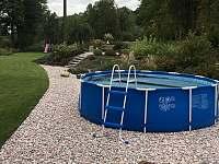 Bazén - vila ubytování Svoboda nad Úpou