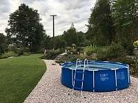 Bazén - pronájem vily Svoboda nad Úpou