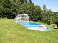 bazén - chata ubytování Háje nad Jizerou