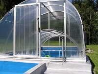 bazén - chata k pronájmu Háje nad Jizerou
