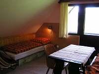 ložnice - chata k pronájmu Háje nad Jizerou