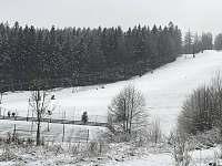 Lyžařský vlek vedle chaty - chalupa k pronájmu Žacléř - Prkenný Důl