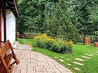 zahrada - pronájem chalupy Peřimov
