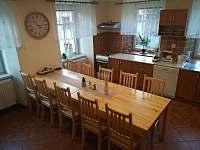 kuchyň, jídelna přízemí - Rokytnice nad Jizerou