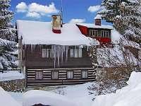 Chalupa Lucie v zimě Rokytnice nad Jizerou - chata k pronájmu