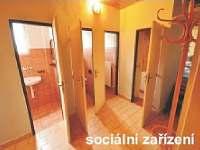 Sociální zařízení suterén - pronájem chaty Rokytnice nad Jizerou