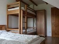 Horní apartmán ložnoce - Paseky nad Jizerou