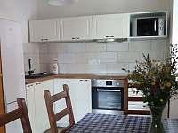 Spodní apartmán kuchyň - pronájem chalupy Paseky nad Jizerou