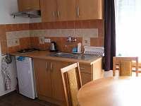 Kuchyňka v apartmánech